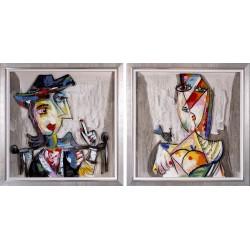 Peinture sur verre acrylique
